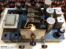 電蓄修復 7球スーパーラジオ付き42シングル 山梨県甲府市 S様  【電蓄シャーシ上から】