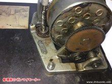 ビクター VV-50 ポータブル蓄音機 修理 岡山県 H様 【修理前のスプリングモーター】