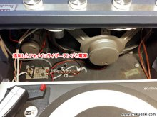 DECCA Deccalian Mk.4 レコードプレーヤー修理 大田区 A様 【MM型カートリッジ用フォノアンプ増設と電源部取付】