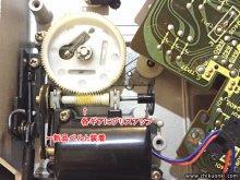 Technics SL-10 レコードプレーヤー修理 台東区 H様 【取り外したベルトの状態と新品ベルト】