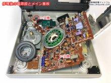 SL-10 リニアトラッキングレコードプレーヤー修理 横浜市 N様 【修理後の電源部とメイン基板、全体の様子】