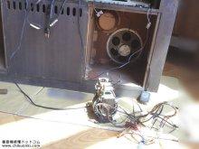 電蓄修理 PHILIPS FX995A/64 横浜市 N様 【スピーカーと電源部】