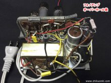 コロンビア LG-310 ポータブル レコードプレーヤー修理 茨城県 K様 【真空管フォノアンプ修理後】