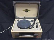 60Hz仕様レコードプレーヤーを50Hz用に改造 プーリー製作 コロンビア LG-310 茨城県 K様 【修理・改造後の様子】